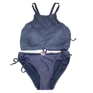 Xhilaration Matching Swim Top and Bottoms